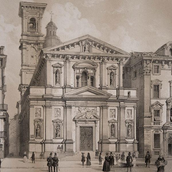 Antica Torino Disegno Epoca
