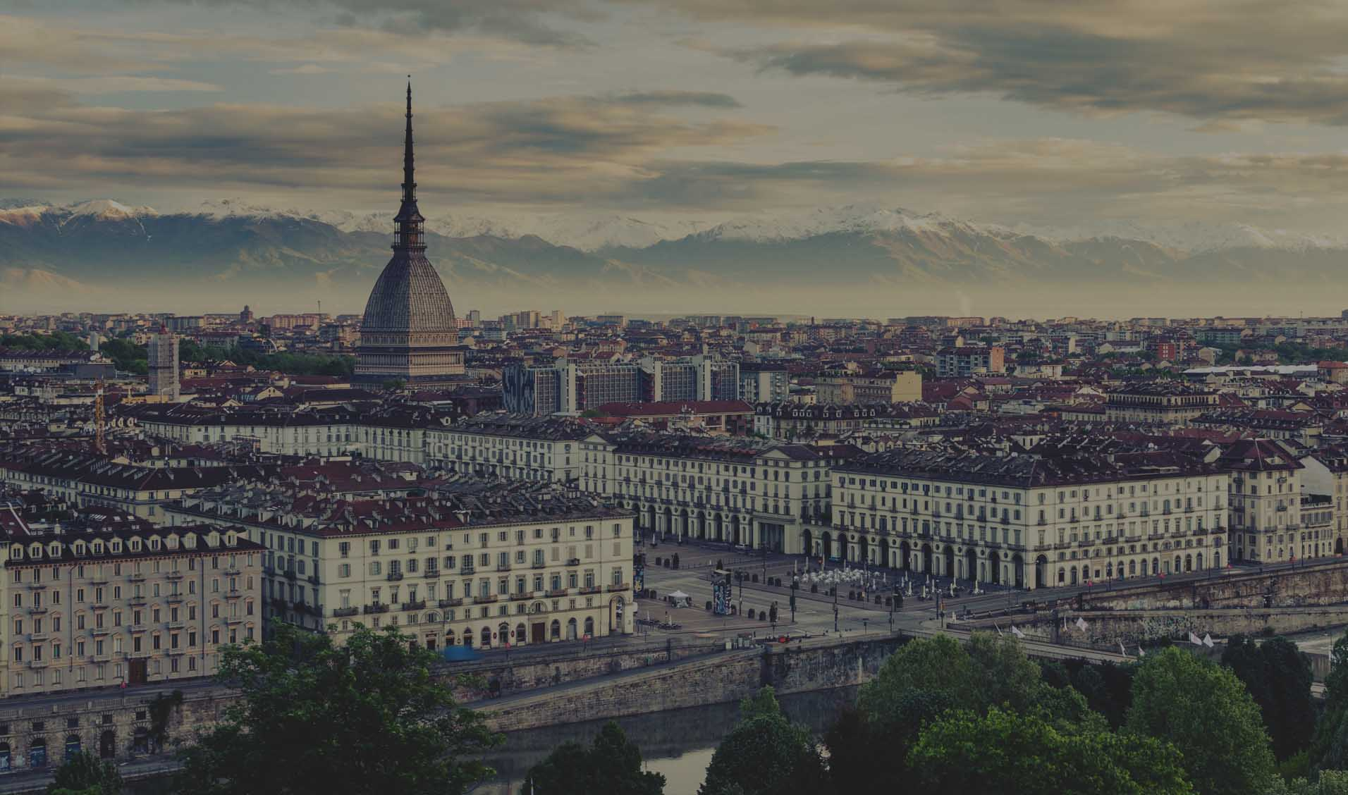 Turin, Italy's first capital.